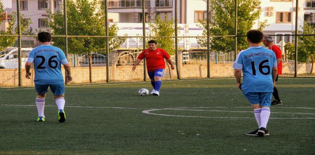 Mahalleler arası Futbol Turnuvası Başladı