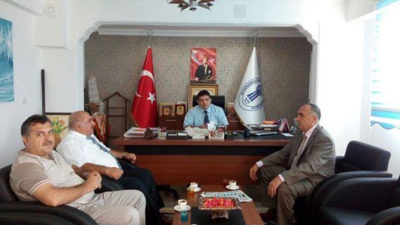 Vergi Dairesi Başkanı, Başkan Sağır'ı Ziyaret Etti