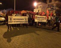 Demokrasi Yürüyüşüne Esnaf Odasından Geniş Katılım